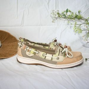Sperry Top Sider Angelfish Sand Scape Boat Shoes